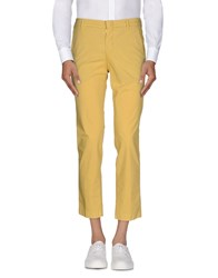 San Francisco '976 Trousers Casual Trousers Men Yellow