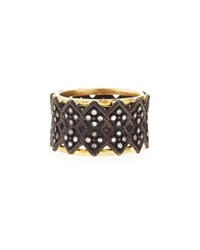 Armenta Double Cravelli Wide Band Ring