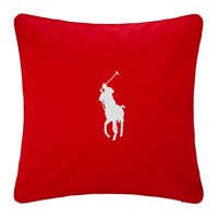 Ralph Lauren Home Pony Cushion Cover 50X50cm Red White