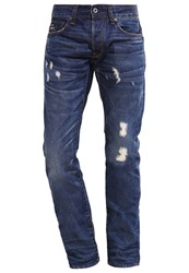 G Star Gstar 3301 Low Tapered Straight Leg Jeans Taland Denim Blue Denim