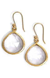 Sonya Renee Women's Sonyarenee 'Nicole' Drop Earrings Clear