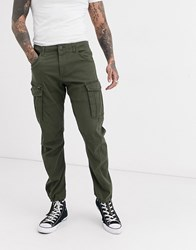 Jack And Jones Cargo Trousers In Green