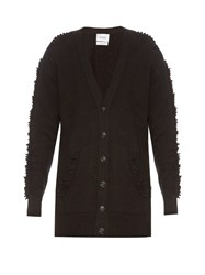 Barrie Troisieme Dimension Cashmere Cardigan Black