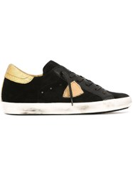 Philippe Model 'Classic Low D Mixage' Sneakers Black
