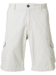 Woolrich Fitted Chino Shorts Nude And Neutrals