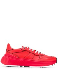 Bottega Veneta Speedster Sneakers Red