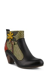 L Artiste Women's L'artiste Dramatic Boot Black Multi Leather