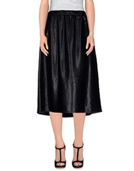 Twin Set Jeans Skirts 3 4 Length Skirts Women Black