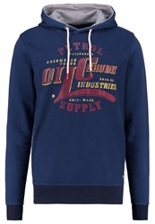 Petrol Industries Hoodie Blue Dark Blue