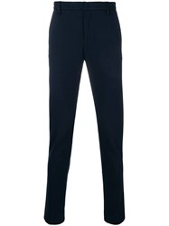 Dondup Tailored Fitted Trousers Blue