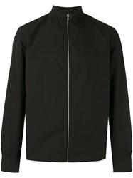 Rag And Bone Zipped Jacket Men Polyester S Black