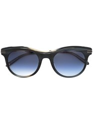 Garrett Leight Andalusia Sunglasses Women Steel Acetate 49 Black