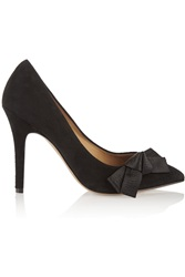 Isabel Marant Poppy Suede Pumps Black