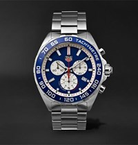 Tag Heuer Formula 1 Chronograph 43Mm Stainless Steel Watch Silver