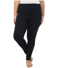 Yummie Tummie Plus Size Louise Leggings Dark Sapphire Women's Casual Pants Blue