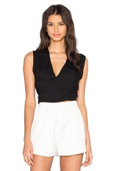 Karina Grimaldi Moon Solid Top Black