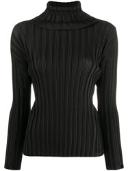 Issey Miyake Pleats Please Pleated Roll Neck Top 60