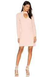 Blaque Label Keyhole Dress Pink