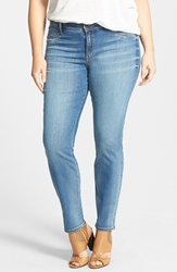 Cj By Cookie Johnson 'Joy' Stretch Skinny Jeans Syreeta Plus Size