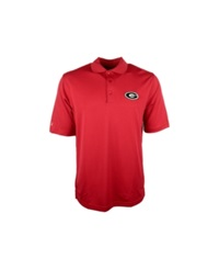 Antigua Men's Georgia Bulldogs Pique Extra Lite Polo Shirt Red