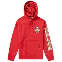 Tommy Jeans 5.0 'S 90S Sailing Logo Hoody Red