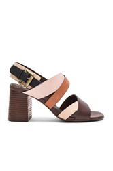 See By Chloe Strappy Heel Brown