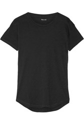 Madewell Whisper Cotton Jersey T Shirt Black