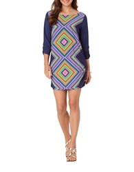 Anne Cole Print Coverup Tunic Multi