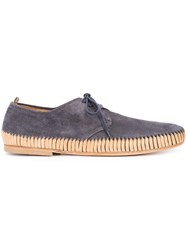 Officine Creative Maurice Boat Shoes Men Calf Leather 43 Blue