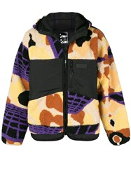 P.A.M. Perks And Mini Pam Printed Hooded Coat Black