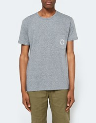 Quality Peoples Waves Dude Pocket T Shirt Heather Grey