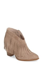Ariat Women's Unbridled Layla Fringed Bootie Sand Suede