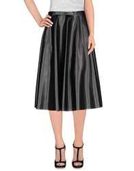 Roberto Collina Skirts 3 4 Length Skirts Women Black