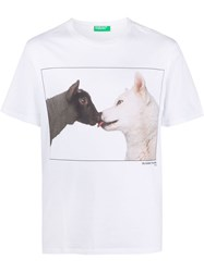 United Colors Of Benetton Animal Print T Shirt 60