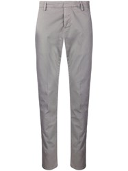 Dondup Classic Tapered Trousers Grey