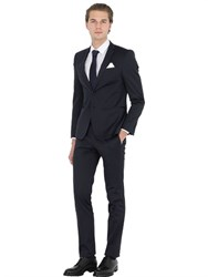 Manuel Ritz Super Slim Fit Stretch Techno Satin Suit