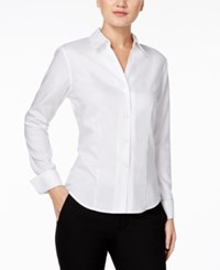 Calvin Klein Fitted Shirt White
