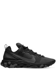 Nike React Element 55 Sneakers Black D Grey