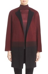 Lafayette 148 New York Women's 'Hayes' Ombre Cashmere Coat