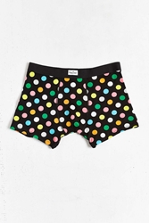 Happy Socks Polka Dot Boxer Brief Black Multi