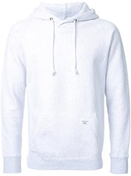 Bedwin And The Heartbreakers Front Pocket Hoodie Grey