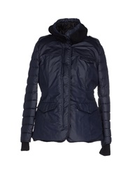 Dek'her Down Jackets Dark Blue