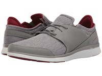 Superfeet Shaw Frost Gray Biking Red Men's Lace Up Casual Shoes