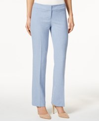 Nine West Straight Leg Trouser Pants Breeze