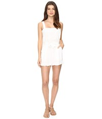 6 Shore Road Rumba Romper Cover Up Moonlight White Women's Jumpsuit And Rompers One Piece