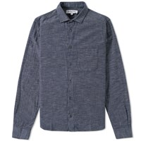 Ymc Curtis Shirt Blue