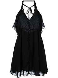 For Love And Lemons Tarta Dress Women Polyester Xs Black