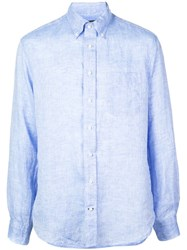 Gitman Brothers Vintage Button Down Shirt Blue