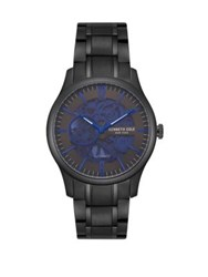 Kenneth Cole Automatic Stainless Steel Bracelet Watch Black
