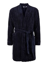Topman Navy Super Soft Touch Dressing Gown
